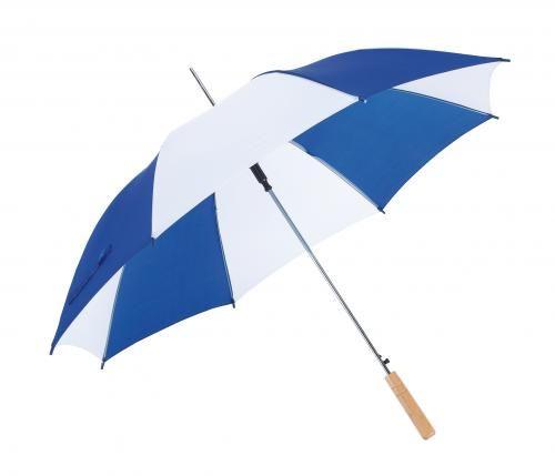 Parasol automatyczny, SALSA, niebieski/biały
