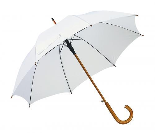 Automatyczny parasol BOOGIE, biały