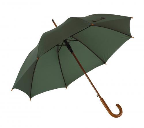 Automatyczny parasol BOOGIE, ciemnozielony