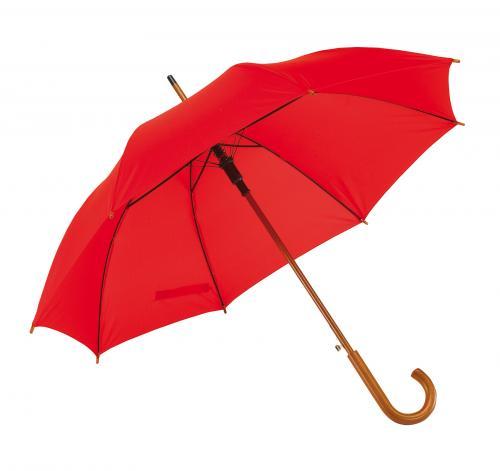 Automatyczny parasol BOOGIE, czerwony