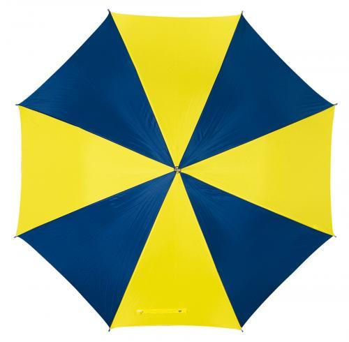 Automatyczny parasol DANCE, niebieski, żółty