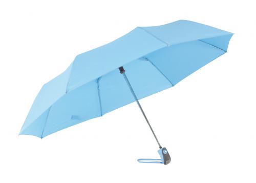 Automatyczny parasol mini COVER, błękitny