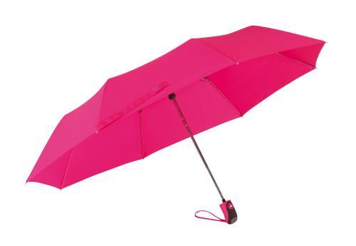 Automatyczny parasol mini COVER, różowy