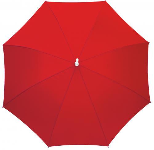 Automatyczny parasol RUMBA, czerwony