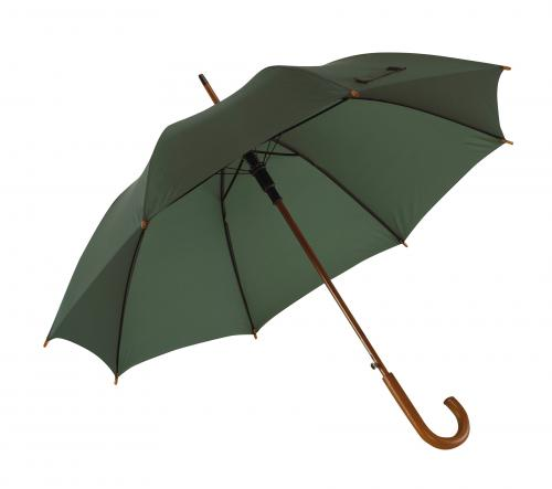 Automatyczny parasol TANGO, ciemnozielony