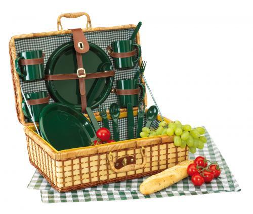 Bambusowy kosz piknikowy GREEN PARK,