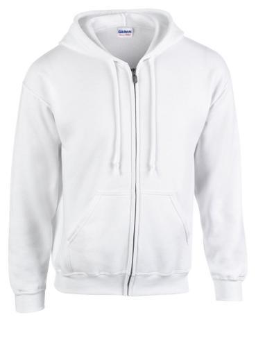 Bluza HB Zip Hooded biały