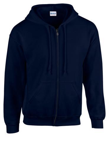 Bluza HB Zip Hooded ciemno niebieski