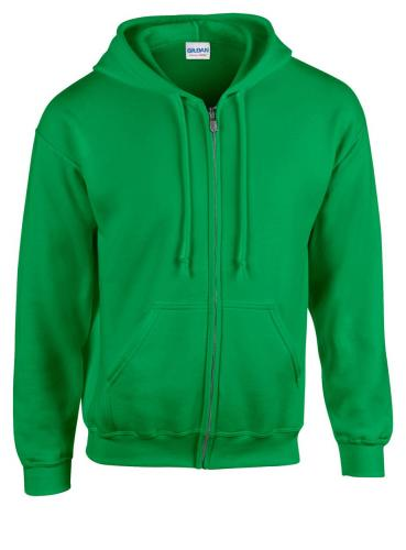 Bluza HB Zip Hooded kelly green