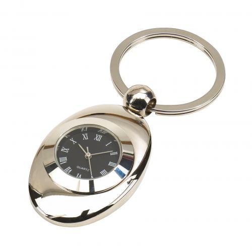 Brelok na klucze TACK, srebrny
