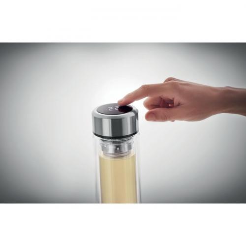 Butelka reklamowa z termometrem