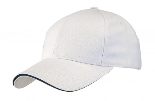 Czapka baseballowa LIBERTY, biały