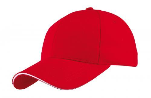 Czapka baseballowa LIBERTY, czerwony