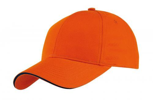 Czapka baseballowa LIBERTY, pomarańczowy