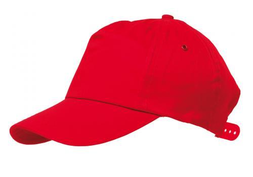 Czapka baseballowa RACING, czerwony