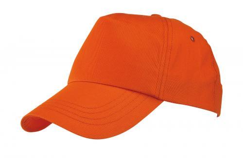 Czapka baseballowa RACING, pomarańczowy