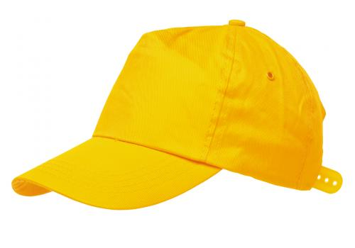 Czapka baseballowa RACING, żółty