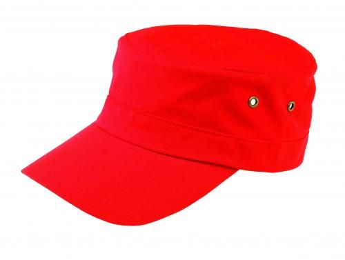 Czapka wojskowa, SOLDIER, czerwony
