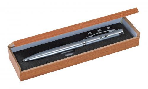 Długopis BUNDLE, srebrny