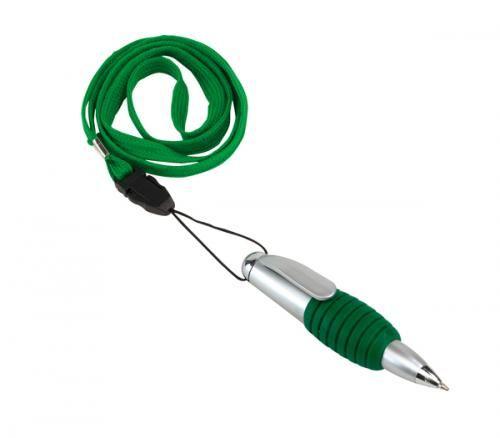 Długopis ″Twister″, ziel/sreb