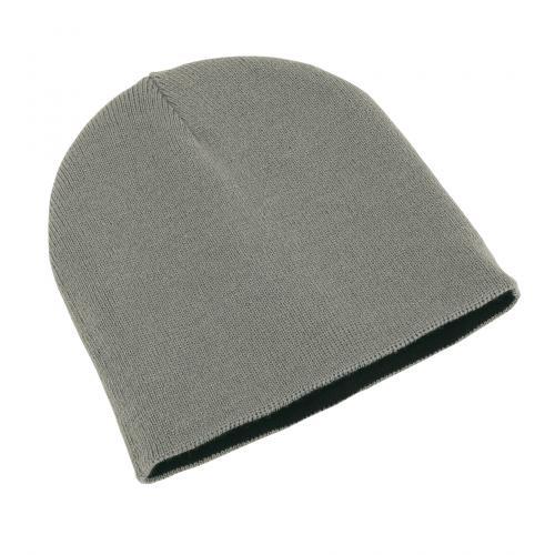 Dwustronna czapka NORDIC, srebrny, czarny