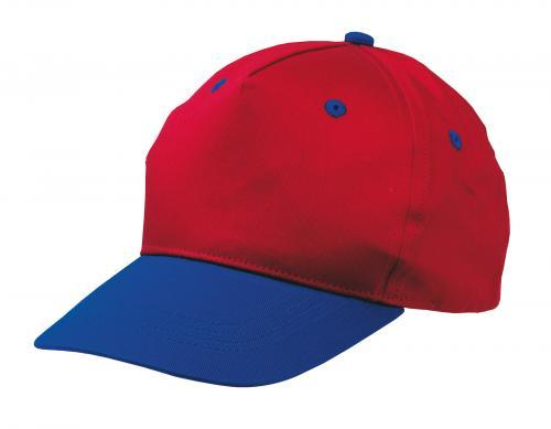 Dziecięca czapka baseballowa CALIMERO, czerwony, niebieski