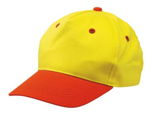 Dziecięca czapka baseballowa CALIMERO, żółty, pomarańczowy