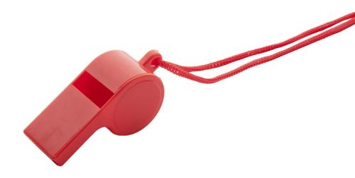 Gwizdek Claxo czerwony