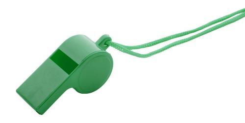 Gwizdek Claxo zielony