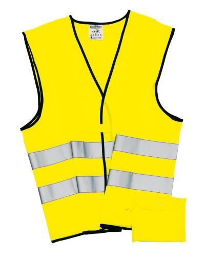 Kamizelka odblaskowa HERO, żółty