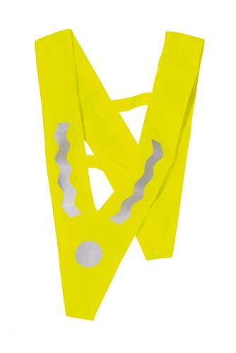Kamizelka odblaskowa VICTORY, srebrny, żółty