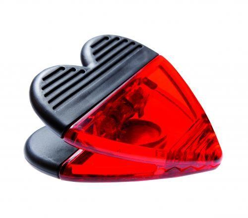 Klips, MEMO LOVE, czarny/czerwony