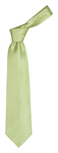 Krawat Colours jasno limonkowy