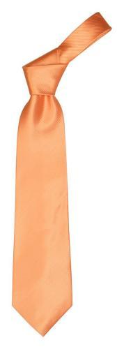 Krawat Colours pomarańcz