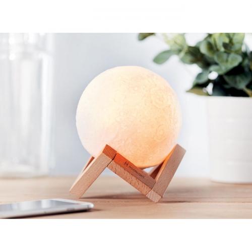 Księżyc - lampka i głośnik Bluetooth