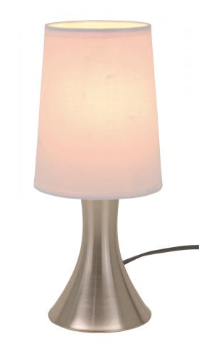 Lampa TOUCH ME, srebrny, biały