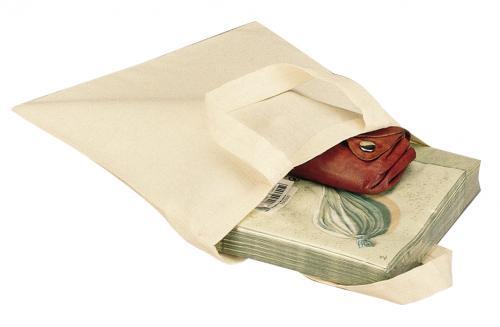 Mała torba bawełniana LITTLE, bezowy