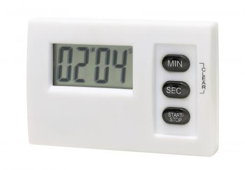 Minutnik elektroniczny MAGNETIC, biały