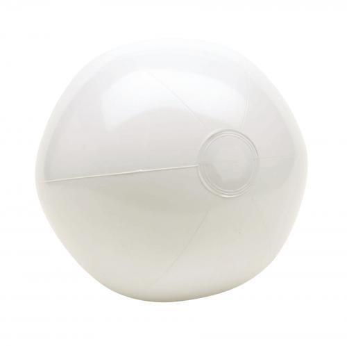 Nadmuchiwana piłka plażowa PACIFIC, biały