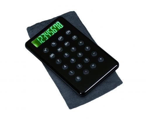 Kalkulator, NOIR, czarny