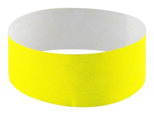 Opaska Events żółty fluorescencyjny