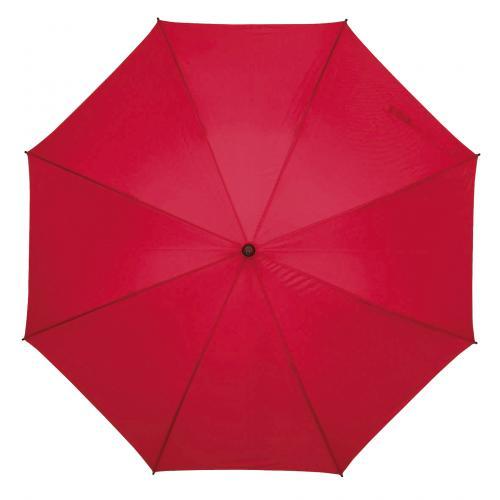 Parasol FLORA, ciemnoczerwony