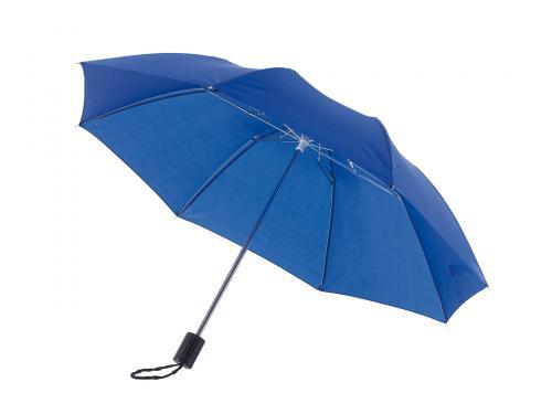 Parasol składany bez automatu REGULAR, niebieski