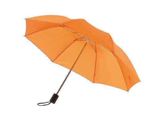 Parasol składany bez automatu REGULAR, pomarańczowy