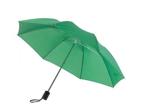 Parasol składany bez automatu REGULAR, zielony