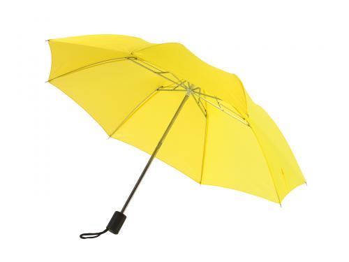 Parasol składany bez automatu REGULAR, żółty