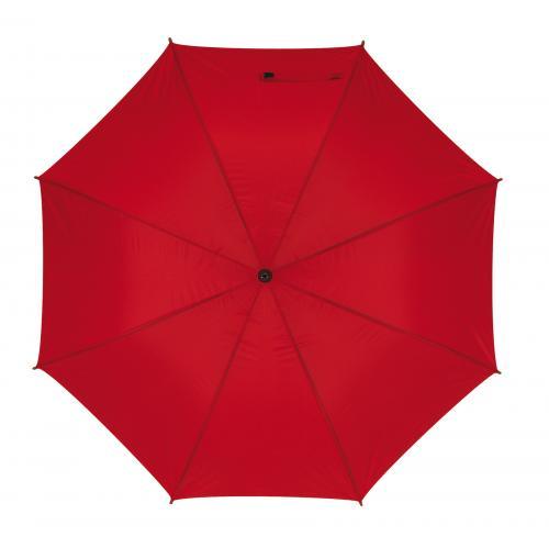 Parasol typu golf MOBILE, czerwony