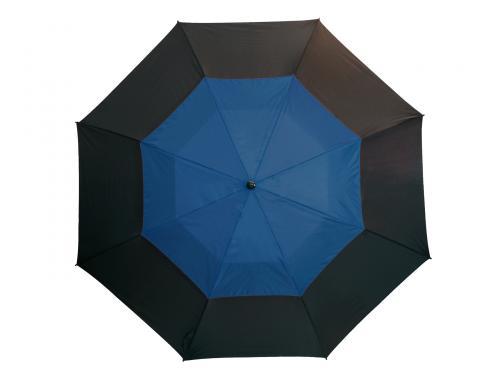 Parasol typu golf MONSUN, czarny, niebieski