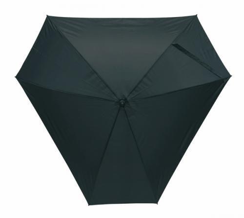 Parasol 'Triangle', czarny