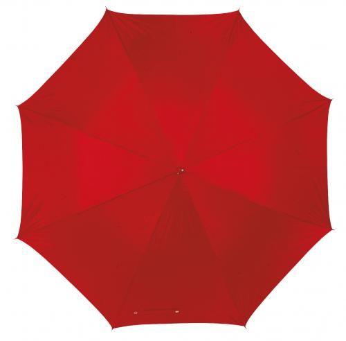 Parasol golf, RAINY, czerwony